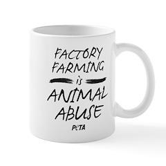 Factory Farming II Small Mug