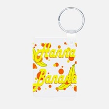 Hanna Banana Aluminum Photo Keychain