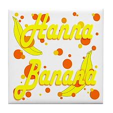 Hanna Banana Tile Coaster
