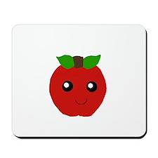Kawaii apple Mousepad