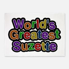 World's Greatest Suzette 5'x7' Area Rug