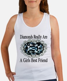 Diamonds are forever Women's Tank Top