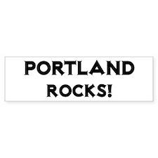 Portland Rocks! Bumper Bumper Sticker
