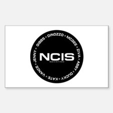 NCIS: Roster Sticker (Rectangle 10 pk)