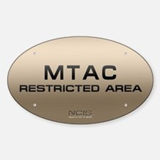 NCIS: MTAC Sticker (Oval 10 pk)
