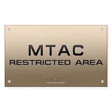 NCIS: MTAC Decal