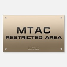 NCIS: MTAC Sticker (Rectangle 10 pk)