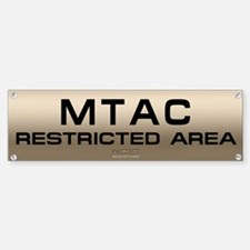 NCIS: MTAC Bumper Bumper Sticker