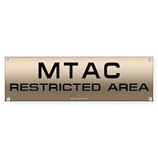 NCIS: MTAC Bumper Sticker
