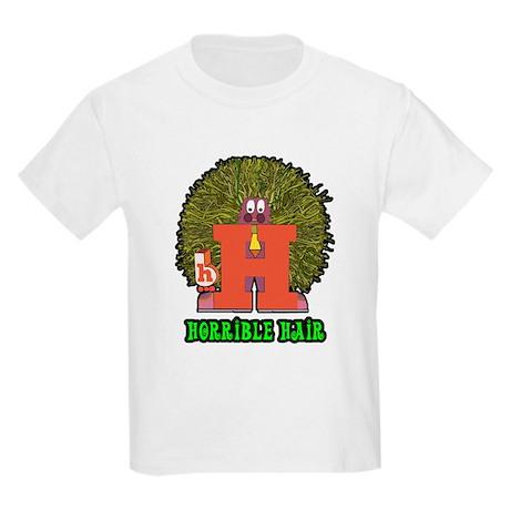 Horrible Hair Kids Light T-Shirt