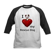 I Love My Rescue Dog Tee