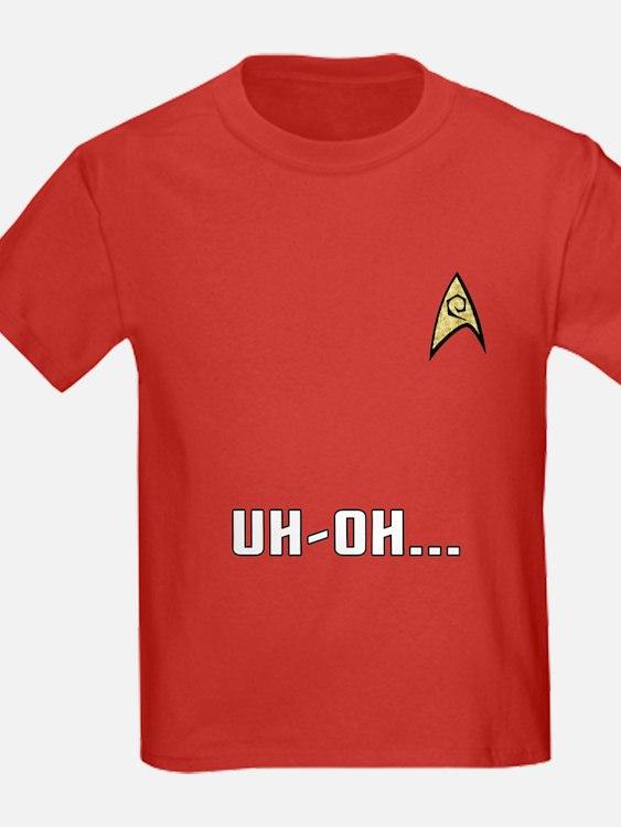Star Trek Kid's Red Shirt: Uh-Oh!