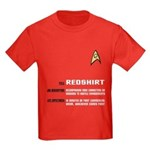 Star Trek 'Job Description' Kids Red Shirt