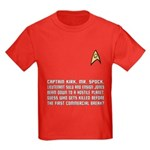 "Star Trek ""Who Dies?"" Kids Red Shirt"