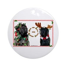 Mastiff XMas 46 Ornament (Round)