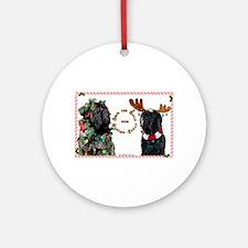 Mastiff XMas 46 Ornament (Round)
