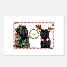 Mastiff XMas 46 Postcards (Package of 8)