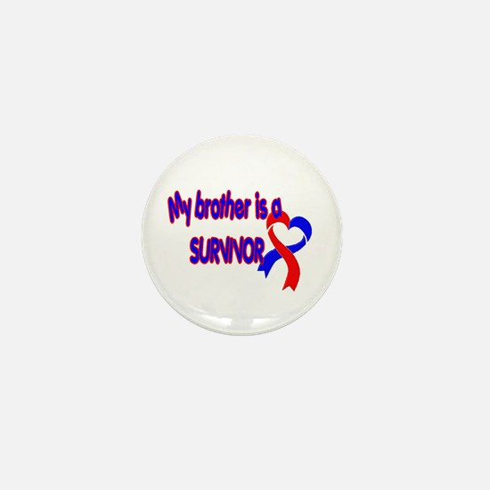 Brother CHD Survivor Mini Button