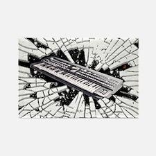 Keyboard Rectangle Magnet