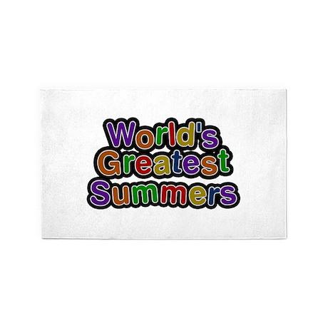 World's Greatest Summers 3'x 5' Area Rug