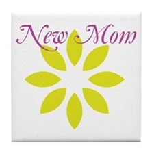 New Mom Tile Coaster