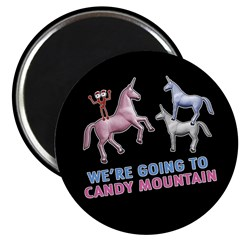 Candy Mountain Magnet