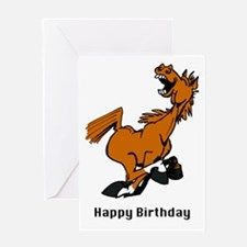 YeeHaw Horse Greeting Card