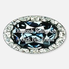 Diamonds are forever Decal
