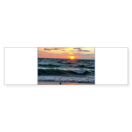 Sunset, photo, Sticker (Bumper 50 pk)