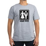 Game Over Men's Fitted T-Shirt (dark)