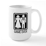 Game Over Large Mug