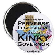 Kinky Governor Magnet