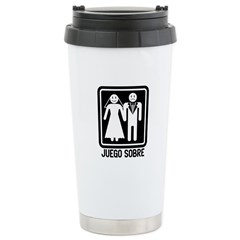 Juego Sobre Stainless Steel Travel Mug