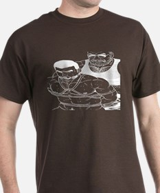 2 men HAVING SOME -FUN -DARK T-Shirt