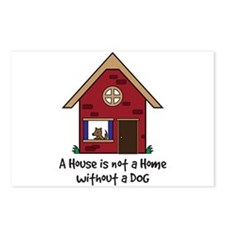 Cute Shelter dog Postcards (Package of 8)
