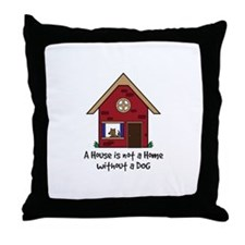 Cute Shelter pets Throw Pillow