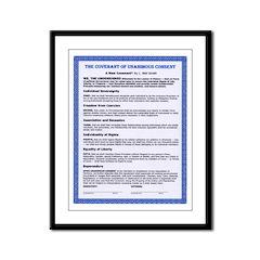 """11"""" hi image-Covenant in Framed Panel Print"""