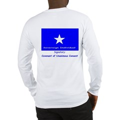 Covenant & Signatory on Long Sleeve T-Shirt