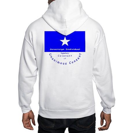 Covenant & Signatory on Hooded Sweatshirt