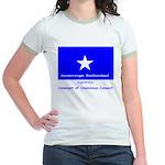 Bonnie Blue on Ringer T-shirt