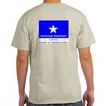 Covenant front, Bonnie Blue back Ash Grey T-Shirt