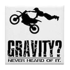 Gravity? Motocross Tile Coaster