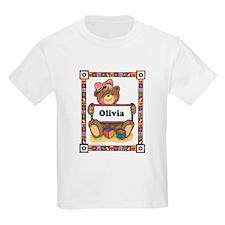 Teddy Bear, Olivia - Kids T-Shirt