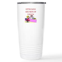 optician joke Travel Mug