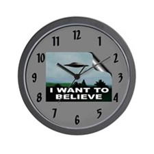 """I Want To Believe"" Wall Clock"