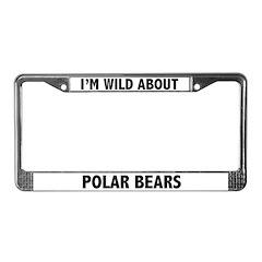 Polar Bear License Plate Frame