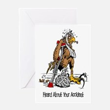 Sorry About Accident Greeting Card