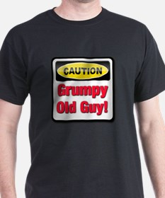 Caution: Grumpy Old Guy T-Shirt