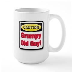 Caution: Grumpy Old Guy Mug