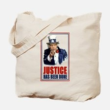 Justice has been done Bin Lad Tote Bag
